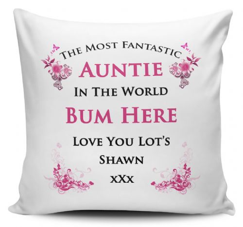 Personalised Any Name Most Fantastic In The World Cushion Cover
